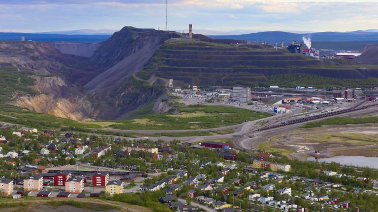 Кируна е най-северният град в Швеция. Освен като ски курорт
