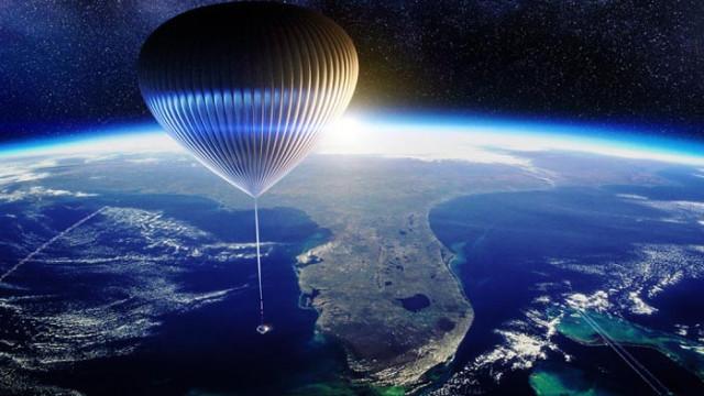 Капсула с огромен балон ще изкачва туристи до ръба на Космоса?