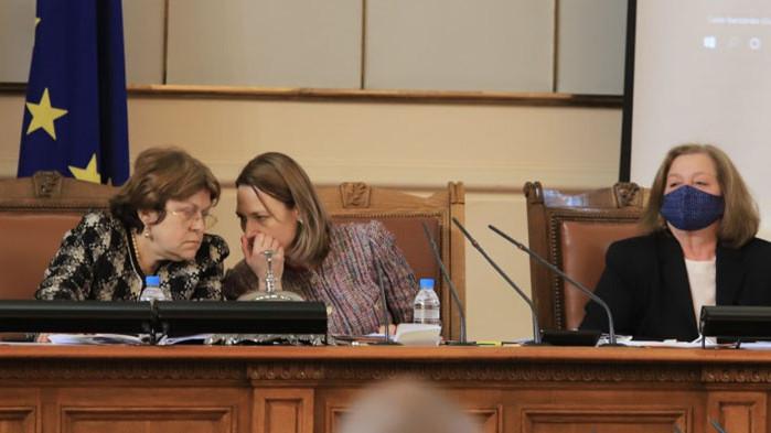 Татяна Дончева предлага поне до Нова година да работи този парламент