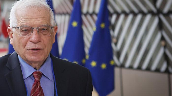 Европейският ръководител на дипломацията Жозеп Борел заяви преди видеоконференция на