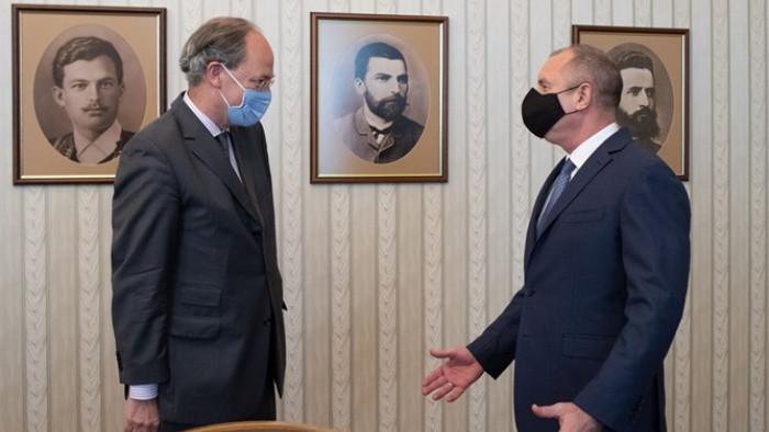 """Държавният глава Румен Радев проведе днес работна среща на """"Дондуков"""""""
