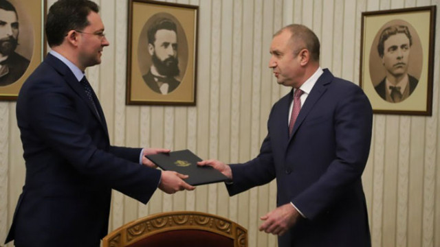 ГЕРБ-СДС върна мандата на президента