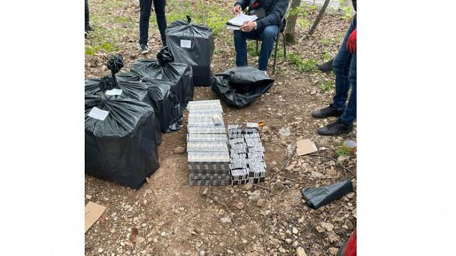 Врачанската полиция разкри контрабандист на цигари