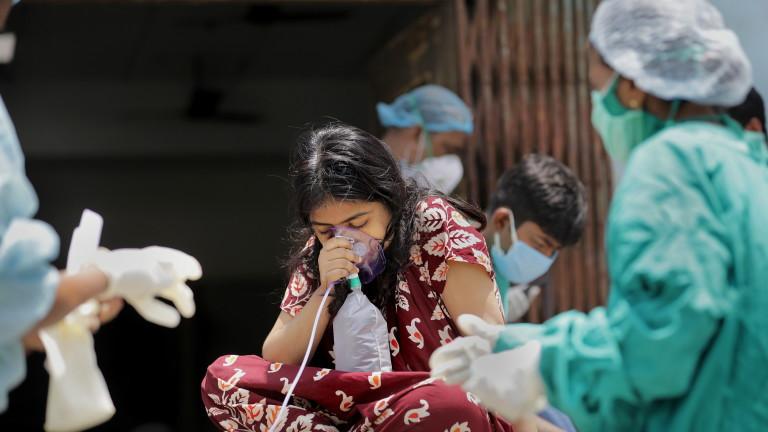 Още 346 786 заразени с новия коронавирус (COVID-19) са били
