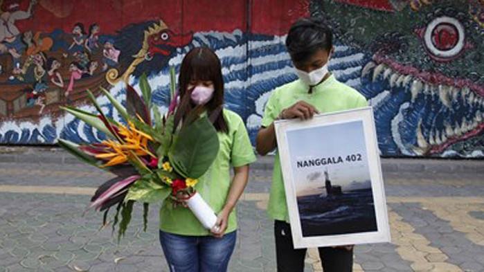 Останките от потъналата индонезийска подводница