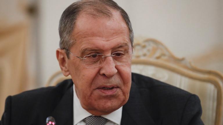 Руският външен министър СергейЛавров коментира за причастност на Русия към