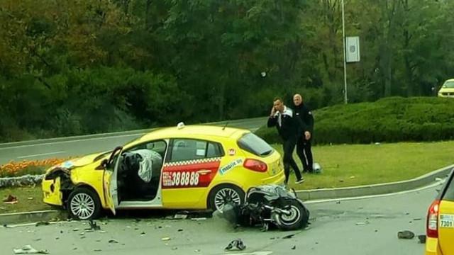 Апелативният съд потвърди присъда на таксиметров шофьор за ПТП със загинал мотоциклетист