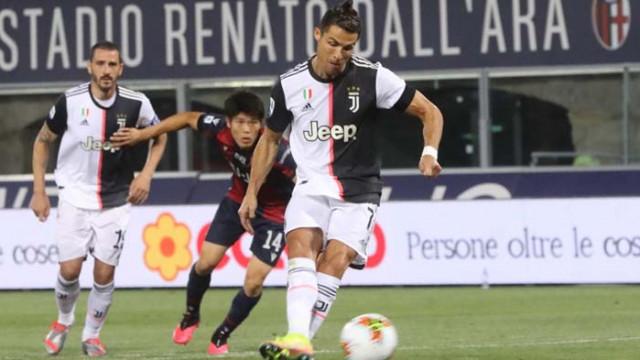 Роналдо и Дибала донесоха рутинен успех на Юве
