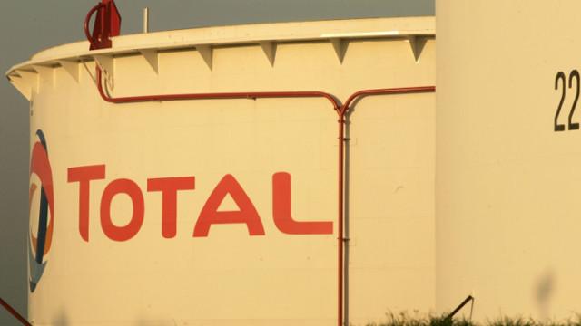 Чистата печалба на Total скача 100 пъти през първото тримесечие