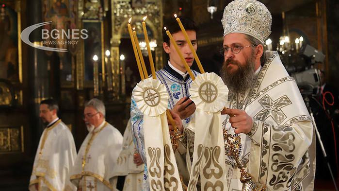 Празнично богослужение за Второ Възкресение се отслужи в митрополитския храм