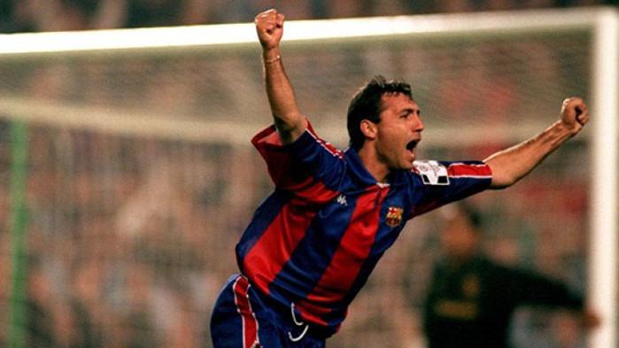 Паметна дата за Стоичков и Барселона
