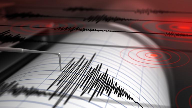 Земетресение удари Тихия океан край бреговете наКралство Тонга, съобщи американската
