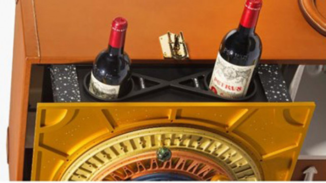 Бутилка вино, завърнала се от космоса, може да се продаде за 1 милион долара
