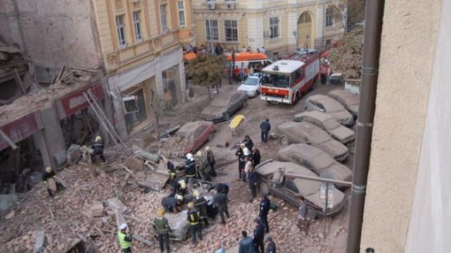 """ВКС: Няма виновни за падналата преди 15 г. сграда на ул. """"Алабин"""""""