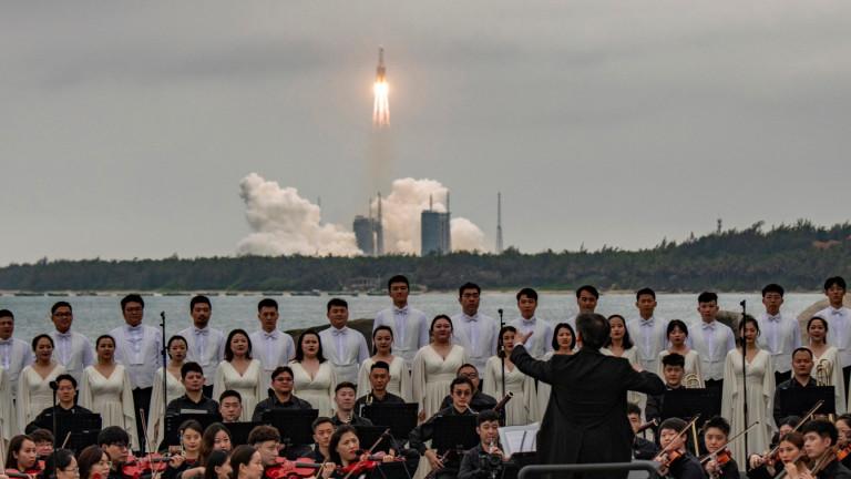Китайската ракета падна западно от Малдивите