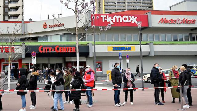 Ваксинираните в Германия вече могат да ходят свободно на шопинг