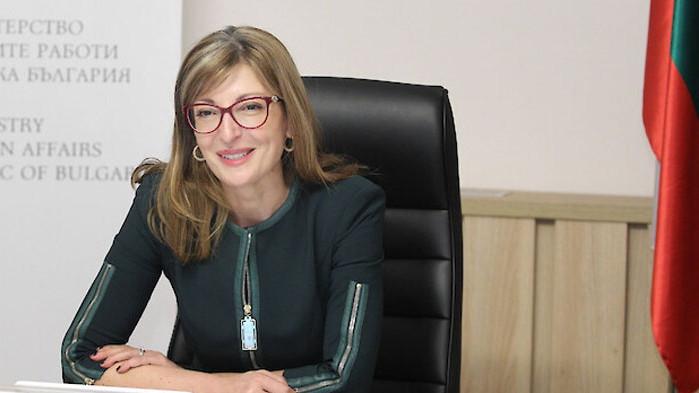 Вицепремиерът и министър на външните работи в оставка Екатерина Захариева