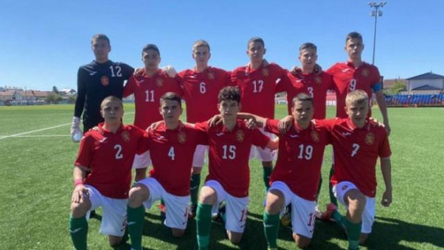 България U15 завърши на шесто място в Хърватия
