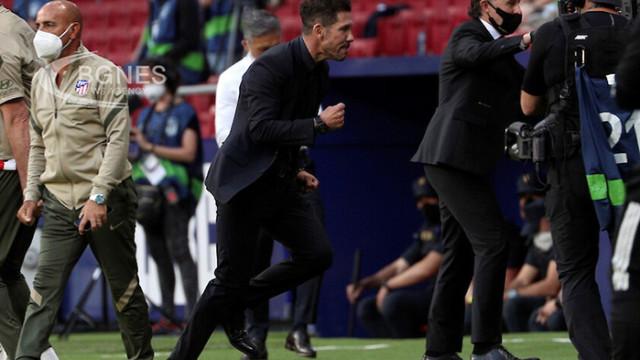 Атлетико Мадрид остана на полпозишън за титлата след драматичен успех над Осасуна