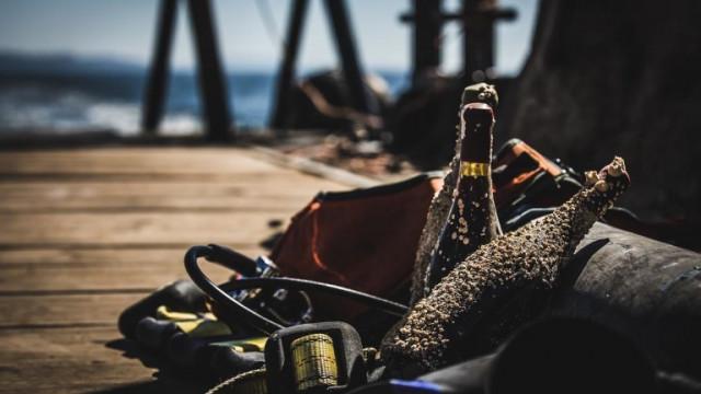 Дегустациите на вина, отлежали на океанското дъно