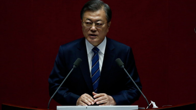 Мун Дже-Ин и Байдън се обявиха за диалог и пълно ядрено разоръжаване на Северна Корея