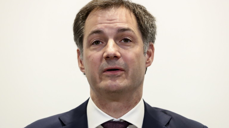 Премиерът на БелгияАлександер Де Кро призова държавните и правителствени ръководители