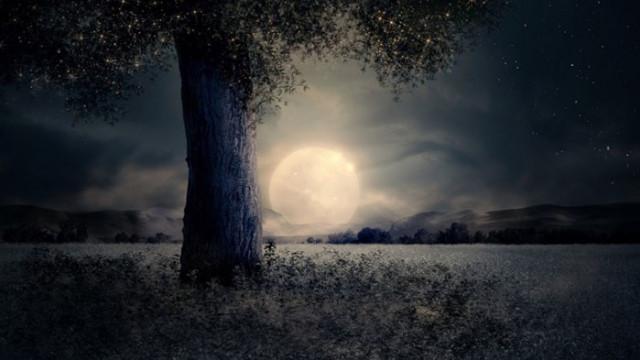Кървава Луна и пълно лунно затъмнение
