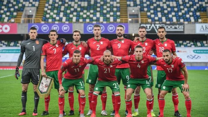 България направи 1:1 със Словакия в контрола, играна в Австрия.