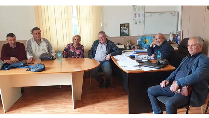 Доц. д-р инж. Медиха Хамза и варненските седесари се срещнаха с Главния секретар Илия Лазаров