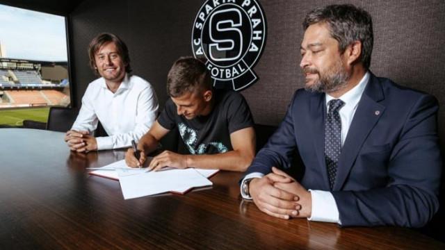 Черно море продаде Мартин Минчев на Спарта (Прага) за 1,2 милиона евро