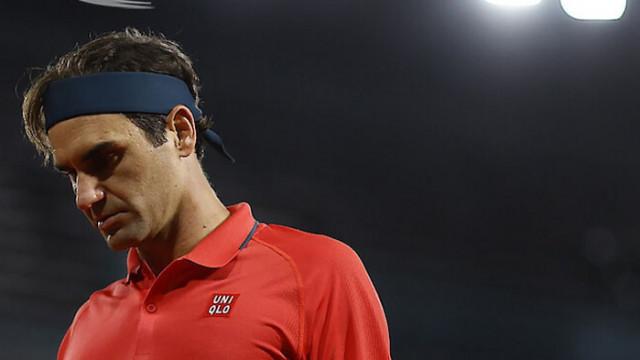 Федерер се оттегли от участие на Ролан Гарос