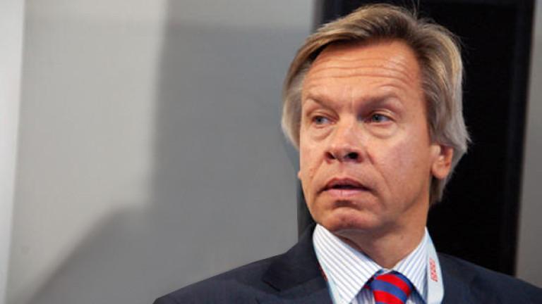 Руският сенатор АлексейПушков коментира изявленията на американския президентДжо Байдън за