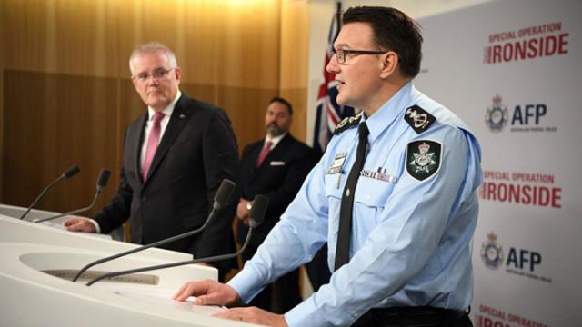 Стотици арести след мащабна международна операция срещу организираната престъпност