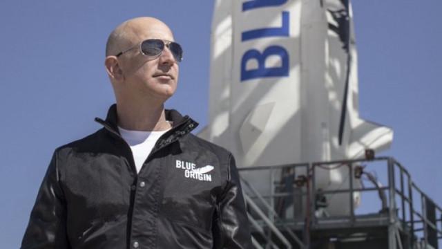 Джеф Безос: Ще полети ли милиардерът в Космоса?