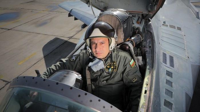 Майор Валентин Терзиев е загинал по време на тренировъчния полет с МиГ-29