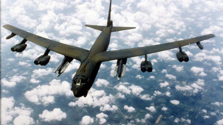 Участието на американското министерство на отбраната сбомбардировачи Boeing B-52H Stratofortress