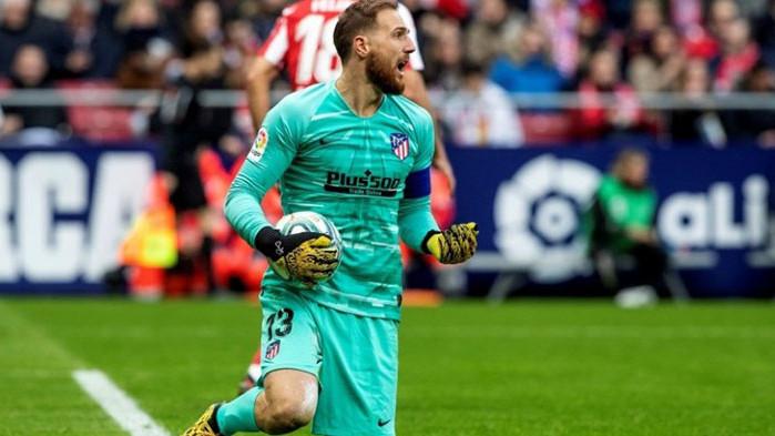 Избраха вратаря на Атлетико Мадрид за най-добър играч в Ла Лига