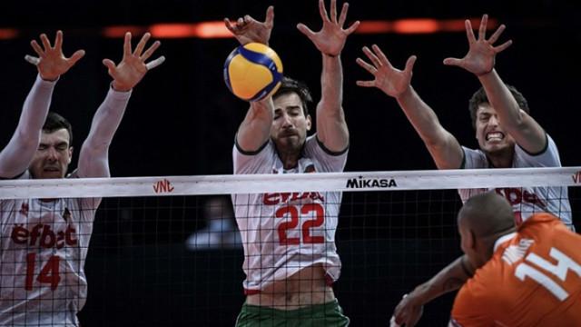 Волейболните национали извоюваха втора победа в Лигата на нациите