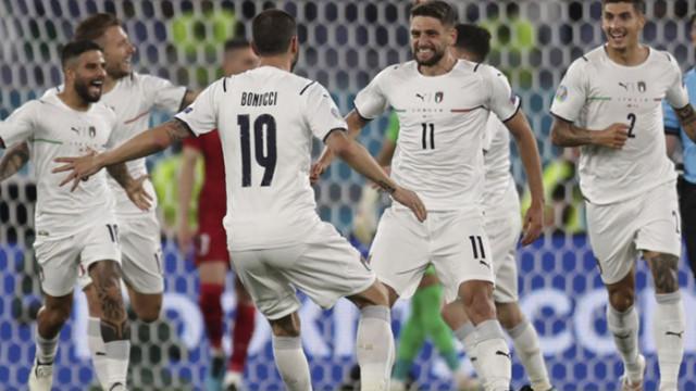 Италия потопи Турция на старта на Евро 2020