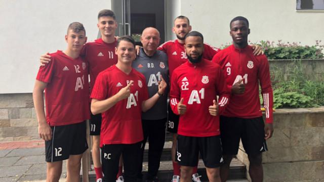 ЦСКА започна подготовка с двама нови и трима младоци