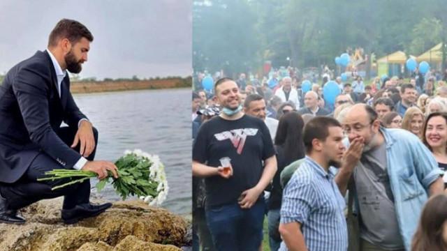 """ДБ """"почетоха"""" паметта на майор Терзиев с шумно парти в Южния парк"""