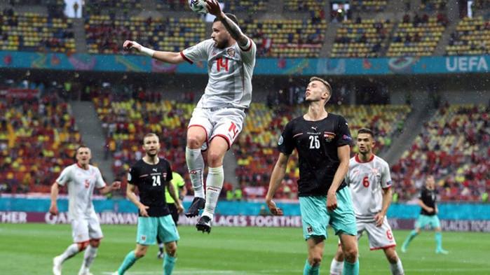 Това бе първа историческа победа за Австрия на Европейско първенство,
