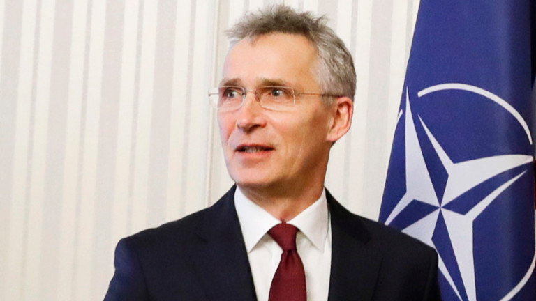 Генералниятсекретар на НАТО Йенс Столтенберг заяви, чеима косвени признаци за