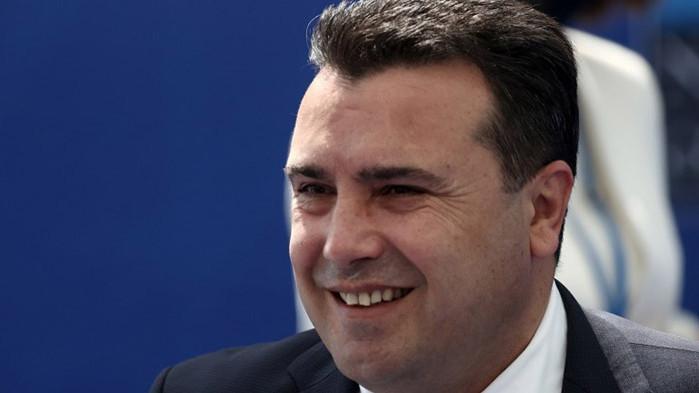 Премиерът на РС Македония Зоран Заев и делегация, състояща се