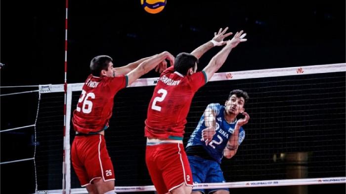 Националниият отбор на България по волейбол отстъпи с 1:3 гейма