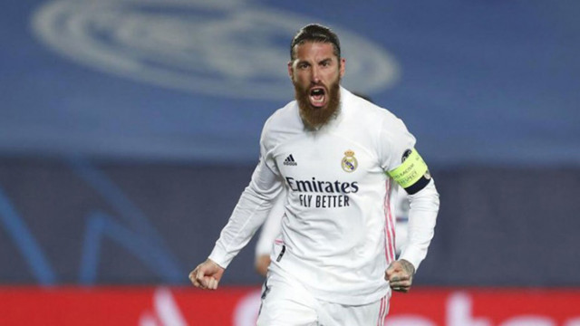 Рамос си тръгна от Реал със сълзи в очите