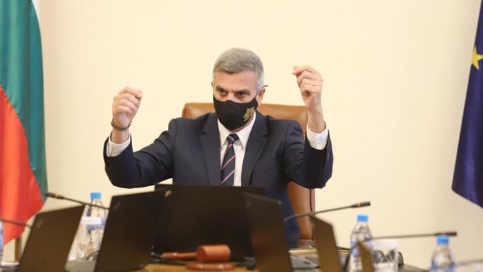 От профила във Фейсбук на Радомир Чолаков, ГЕРБ Служебното правителство