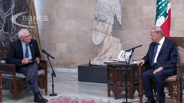 Борел: Политиците в Ливан може да бъдат санкционирани, ако не разрешат кризата