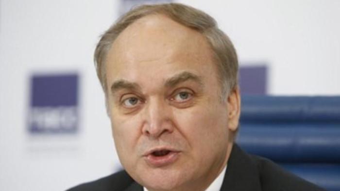 Руският посланик в Съединените щати Анатолий Антонов се завръща във