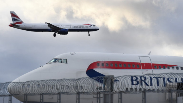 British Airways уволнява 350 пилоти